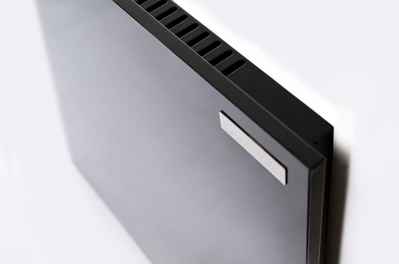 Обогреватель с конвекцией чёрный с теморегулятором 950Вт