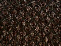 """Дорожка на резиновой основе """"Аран"""" для прихожей темно-коричневая"""