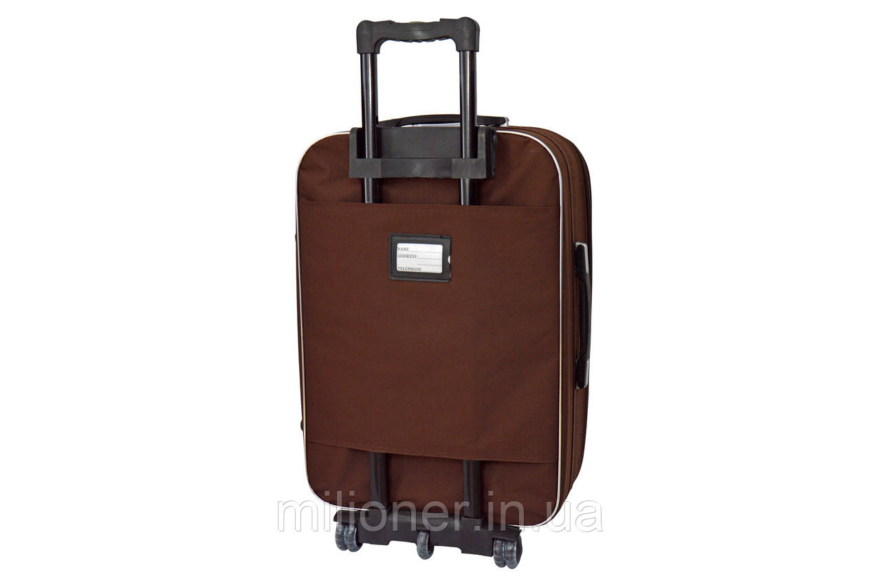 Чемодан Bonro Style (большой) коричневый