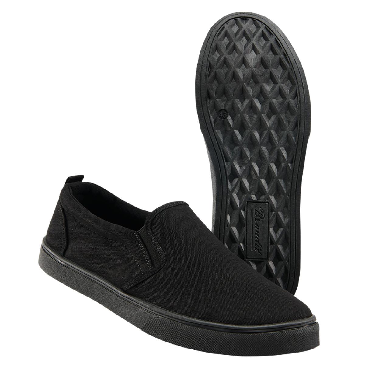 Мужские мокасины Brandit Southampton Slip BLACK