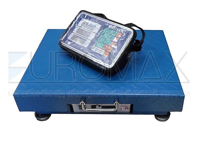 Весы электронные торговые WiFi BITEK 300кг 40х50см TCS-R2-300KG