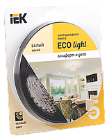 Лента LED 5м блистер LSR-3528WW60-4.8-IP65-12V IEK
