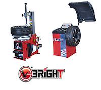 Комплект шиномонтажного оборудования Bright (CB910GBS+LC810)