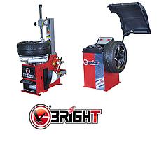 Шиномонтажное оборудование комплект Bright CB910GBS и Bright  LC810, фото 2