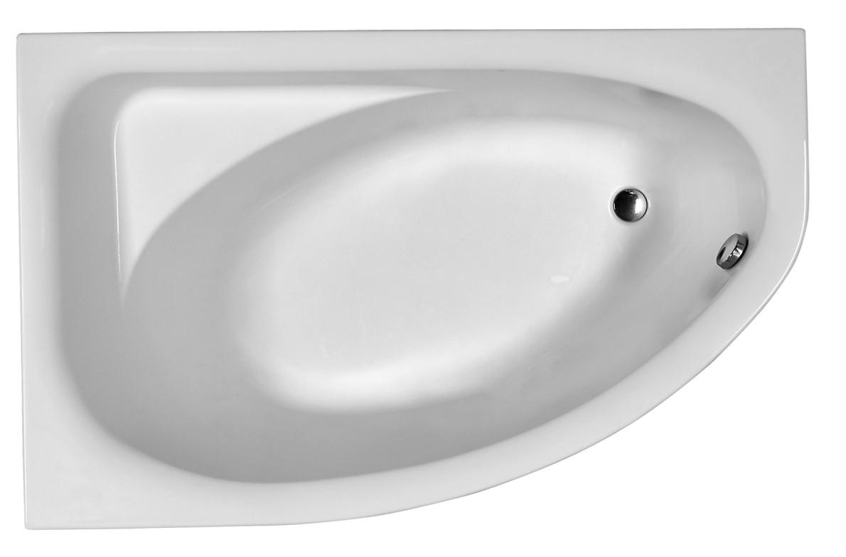 Ванна Spring L 1,6 в комплекте с сифоном Geberit 150.520.21.1 (с ножками)
