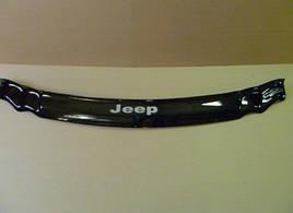 Дефлектор капота, мухобойка Jeep Grand Cherokee (WK) с 2005–2010 г.в. VIP