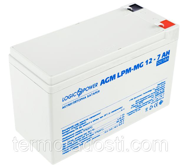 Аккумулятор мультигелевый Logic-Power AGM LPM - MG 12 - 7 AH