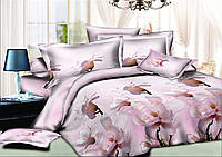 Комплект постельного белья полуторный, ранфорс 100% хлопок. Постільна білизна. (арт.9997)