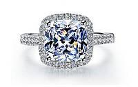 Кольцо от Тиффани с бриллиантом