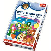 Развивающая игра для детей Цвета и фигуры Первые открытия. Trefl 01106