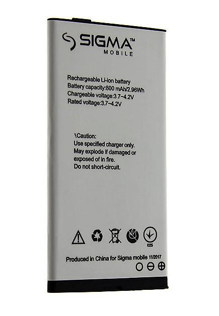 Аккумулятор батарея sigma comfort 50 slim