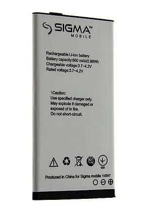 Аккумулятор батарея sigma comfort 50 slim, фото 2