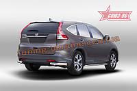 Защита задняя уголки d60 Союз 96 на Honda CR-V 2,0 2013