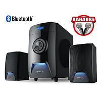 Колонки 2.1 REAL-EL M-570 Bluetooth, караоке (58Вт) black, фото 1