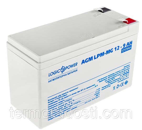 Аккумулятор мультигелевый Logic-Power AGM LPM - MG 12 - 9 AH