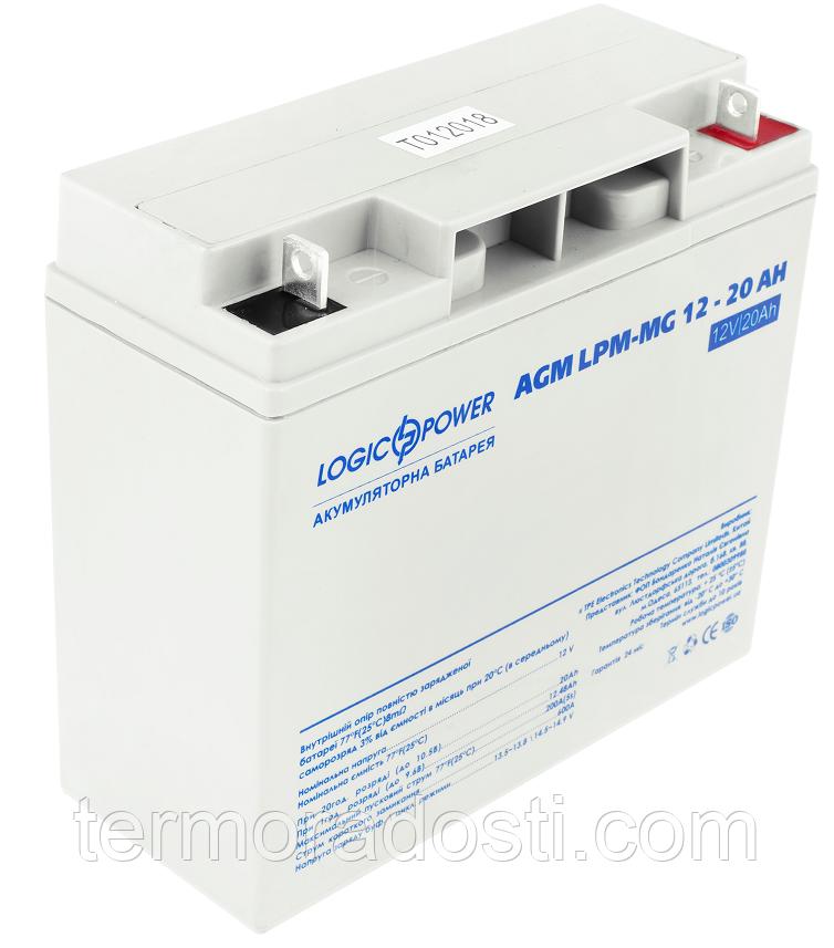 Аккумулятор мультигелевый Logic-Power AGM LPM - MG 12 - 20 AH