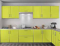 "Кухня ""Mirror Gloss"" Глянець (Лайм), фото 1"