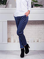 Элегантные брюки с принтом звёзды