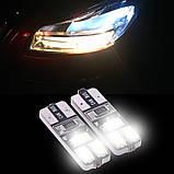 W5W 6000 К лампа в автомобильный габаритный фонарь, фото 3