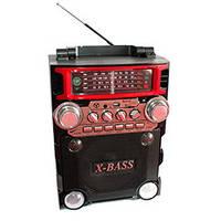 Акустика переносная радиоприемник портативный бумбокс GOLON RX-BT 2088