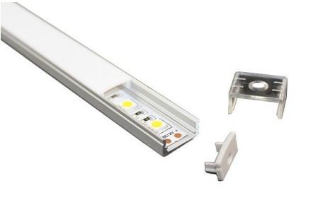 Блок подсветки нижней полки LG-1200 (в профиле)