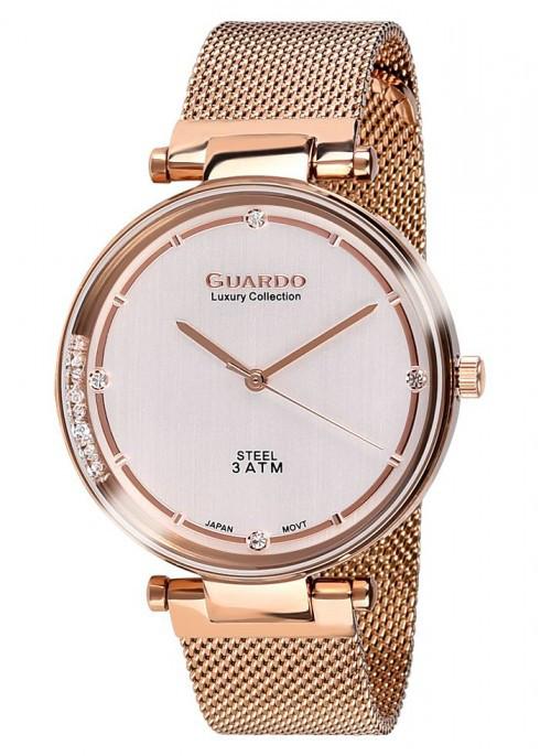 Жіночі наручні годинники Guardo S01959(m) Наrgw