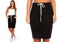 Черная спортивная юбка Ketty (код 049) Реплика , фото 1