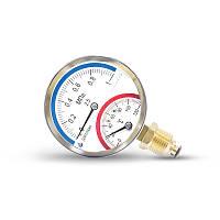 Термоманометр ДМТ радиальный, 80, 0-120С, 1,6 МПа
