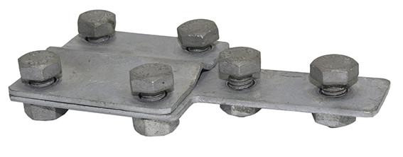 Соединитель провод-полоса контрольный, сталь оцинкованная DKC
