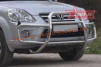 Решётка передняя с защитой бампера d 60(42) Союз 96 на Honda CR-V 2005-2007