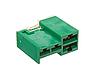 Предохранитель силовой (зелёный 40A-40A-40A) Nissan Leaf ZE0 / AZE0 / ZE1 (10-1) 24370-C9900