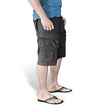 Мужские короткие шорты Surplus Trooper Shorts BLACK GEWAS, фото 3