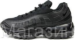 """Женские кроссовки Nike Air Max 95  """"Black"""" Найк Аир Макс 95 в стиле черные"""