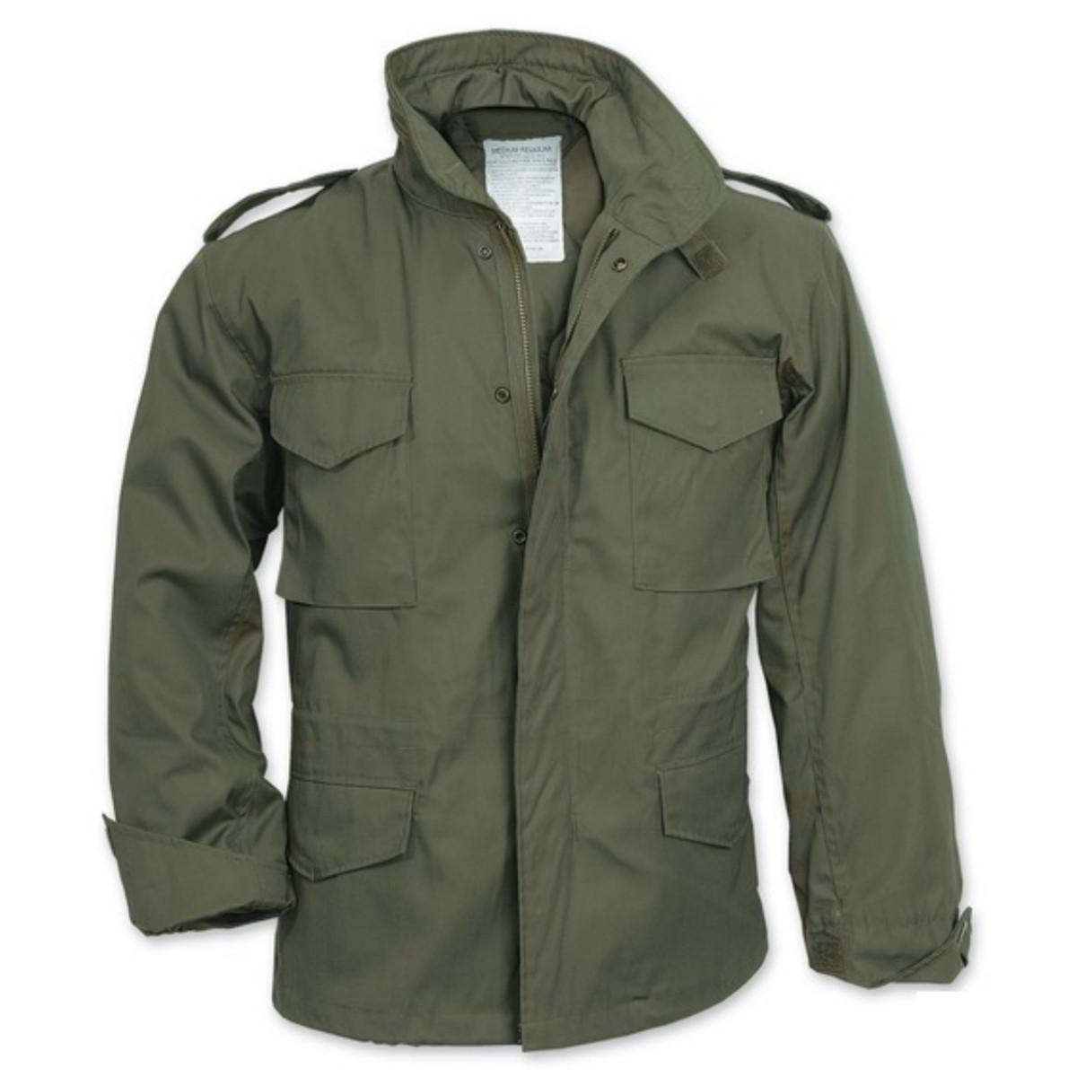 Демисезонная мужская куртка Surplus Us Fieldjacket M65 OLIV