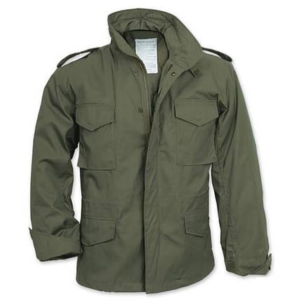 Демисезонная мужская куртка Surplus Us Fieldjacket M65 OLIV, фото 2