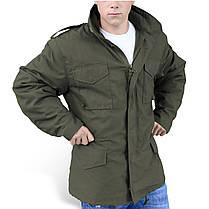 Демисезонная мужская куртка Surplus Us Fieldjacket M65 OLIV, фото 3