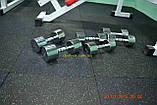 Резиновая плитка с ЭПДМ-гранулами 500*500мм, толщина 25 мм зеленый, фото 2