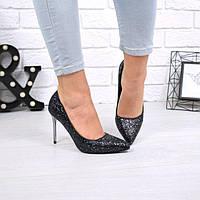 Туфли женские Fashion черные