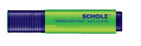 Текстмаркер Sсholz, 210, зелений, 1-5 мм