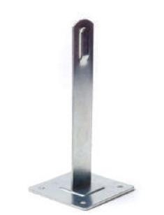 Держатель провода d8мм, высота 100мм, сталь оцинкованная DKC