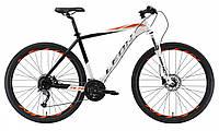 Велосипед 29-034 Leon TN-70 AM Hydraulic lock out 14G (19) чорно-білий з червоним