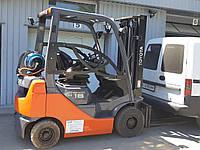 Погрузчик (навантажувач) газовый TOYOTA 02-8FGF18 ТОЙОТА 2011 г.в. 4372 м/ч