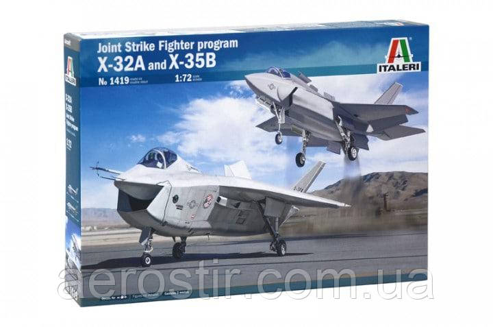 JSF Program: X-32 and X-35B 1/72  Italeri 1419