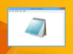"""Уперше за багато років Microsoft оновить додаток """"Блокнот"""""""