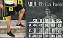Шорты черные мужские с полоской СиДжей (CJ) от бренда ТУР размер XS, S, M, L, XL, фото 5
