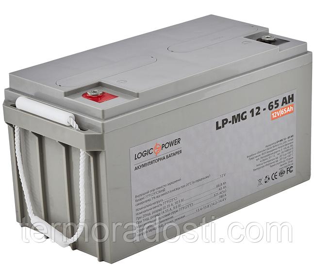 Аккумулятор мультигелевый Logic-Power AGM LP - MG 12 - 65 AH
