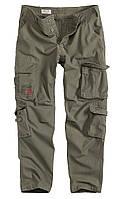 Мужские карго брюки Surplus Airborne Slimmy Trousers Oliv Gewas
