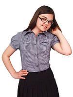 Блузка детская для девочек школьная М-923 рост 134