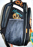 Мужской школьный серый рюкзак Tanks размер 28*38 см, фото 2