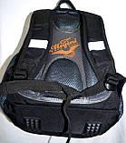 Мужской школьный серый рюкзак Tanks размер 28*38 см, фото 3